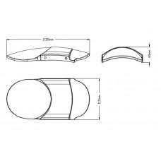 Front Fender - Honda - 3525