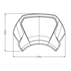 Aluminium Frontal plate - Yamaha