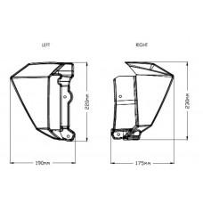 Radiator Caps - Kawasaki - Z650 - 9371