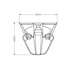 Beak Extender - Yamaha - MT-07 TRACER - 3481