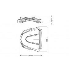 Beak Extender - Yamaha - XT1200Z SUPER TENERE - 3584