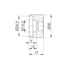 Back Mirror Adapters - Benelli - LEONCINO 500