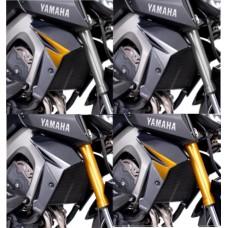 Bočné diely chladiča - Yamaha MT-09 2013-2015