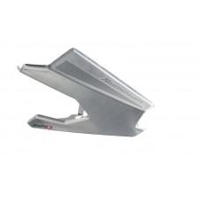 Deflector-protection exhaust